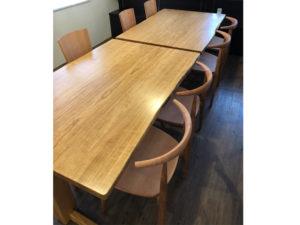 レストラン 旬輝様 テーブル